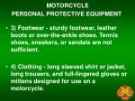 motorcycle personal protective equipment1