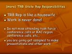 more trb state rep responsibilities2