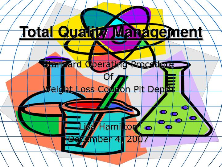 total quality management n.