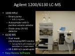 agilent 1200 6130 lc ms