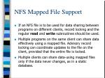 nfs mapped file support2