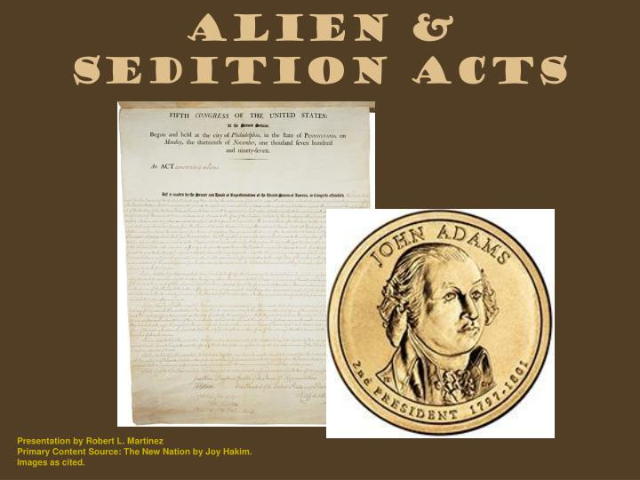 alien sedition acts n.