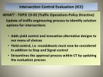 intersection control evaluation ice