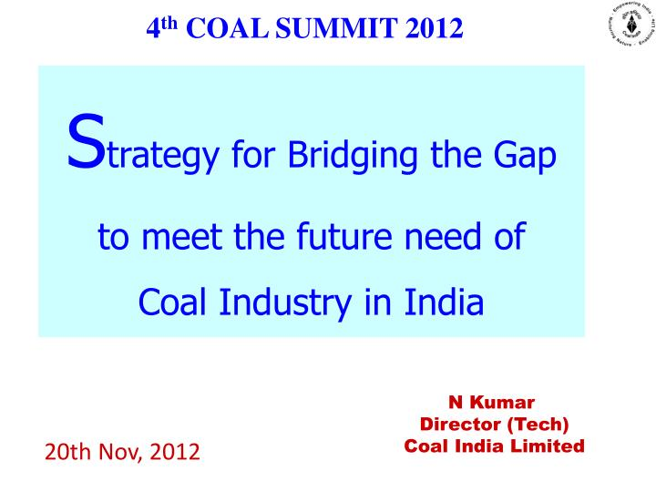 4 th coal summit 2012