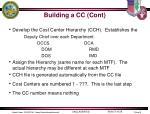 building a cc cont1