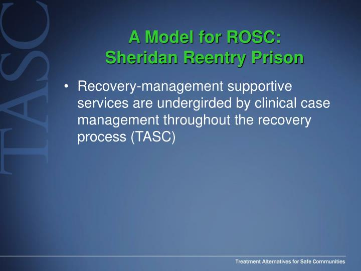 A Model for ROSC: