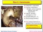 run 2 calorimeter