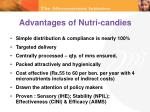 advantages of nutri candies