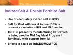 iodized salt double fortified salt