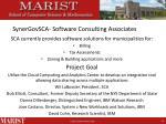 synergovsca software consulting associates