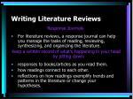 writing literature reviews13