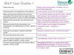 bhlp case studies 1