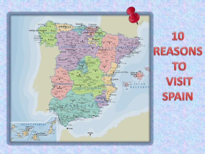 10 reasons to visit spain n.