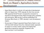 iii policy response of nepal rastra bank on nepal s agriculture sector development