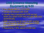 dme distance measuring equipment pg 9 30