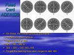 fixed card adf ndb