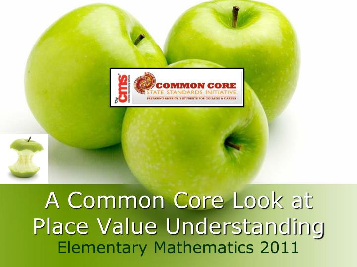 a common core look at place value understanding n.