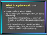 what is a grievance cont d ma article 9