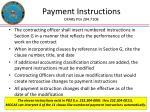 payment instructions dfars pgi 204 7108