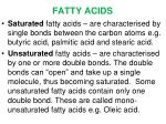 fatty acids1