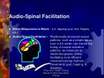 audio spinal facilitation1