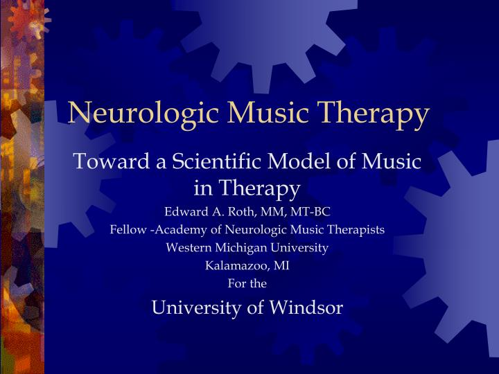 neurologic music therapy n.