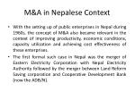 m a in nepalese context