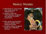 mexico morales