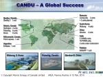 candu a global success