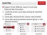 cycle play