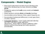components model engine