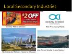 local secondary industries