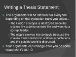 writing a thesis statement1