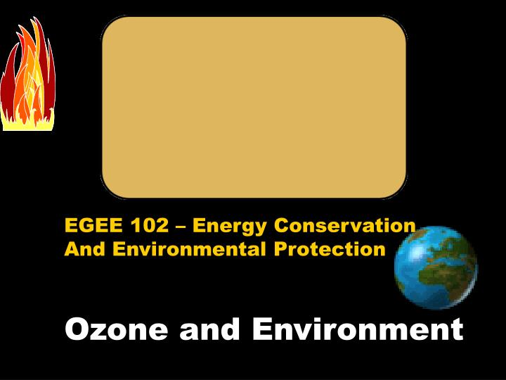 ozone and environment n.