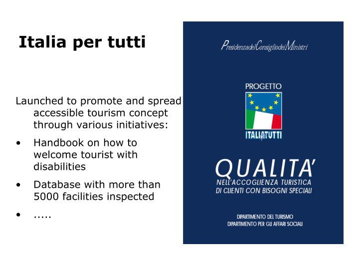 Italia per tutti