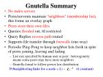 gnutella summary