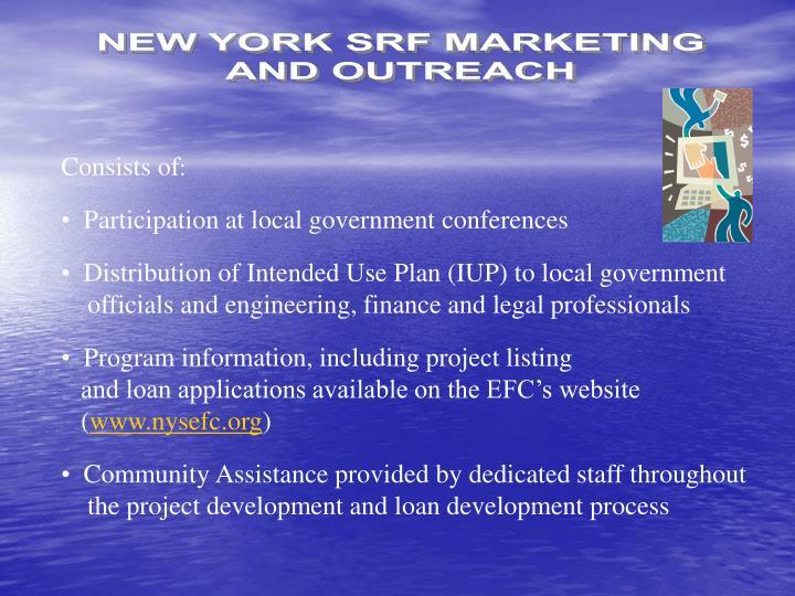 NEW YORK SRF MARKETING