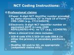 nct coding instructions1