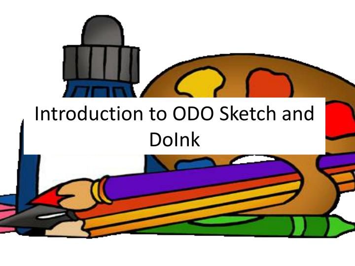 introduction to odo sketch and doink n.