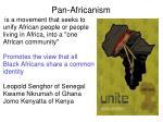 pan africanism