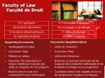 faculty of law facult de droit