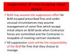 suppression of fires escaping initial attack2