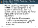 section 2 3 4 mifrs application filing for the 2013 rate year2