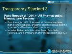 transparency standard 3