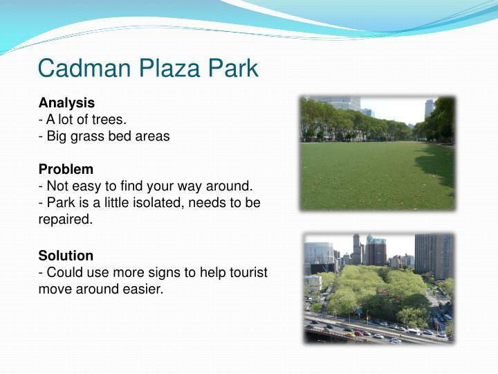 Cadman Plaza Park