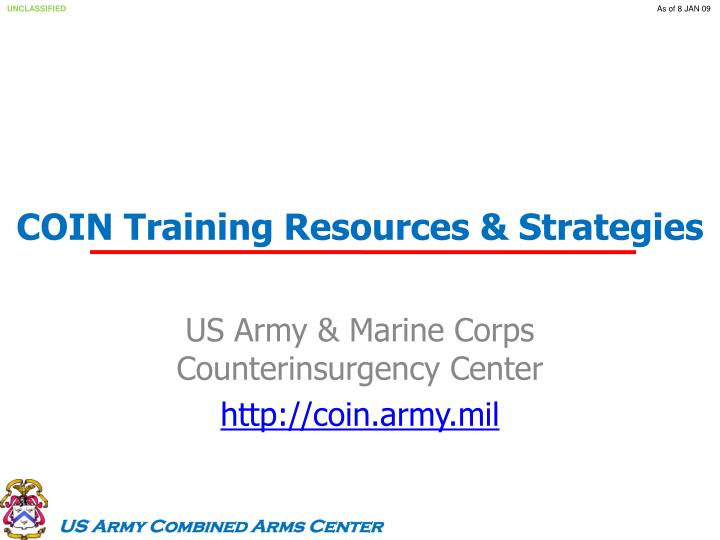 coin training resources strategies n.