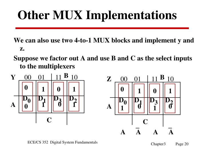 Other MUX Implementations