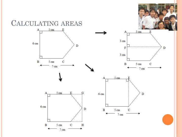 Calculating areas