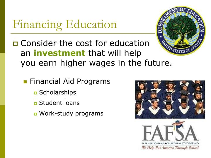 Financing Education