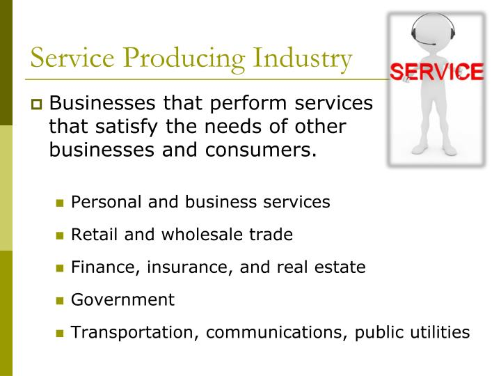 Service Producing Industry
